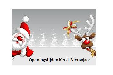 Openingstijden Kerst-Nieuwjaar