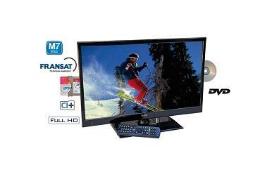 Teleco TEV22D1 22 12V FHD LED TV DVB-S2 T2 DVD HEVC